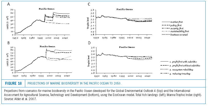 biodiversity scenario, marine biodiversity